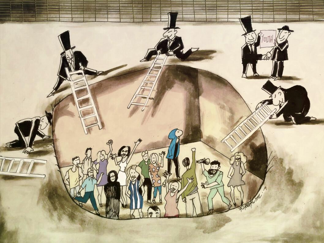 Tegning: Firuz Kutal