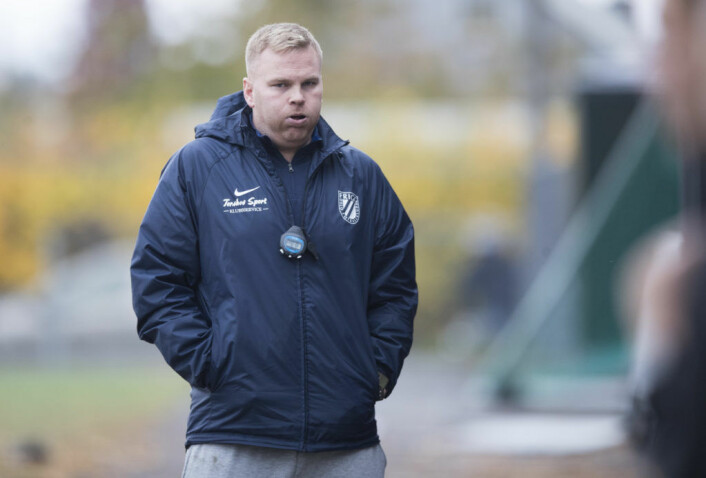 Magnus Aadland. Foto: Frigg fotball