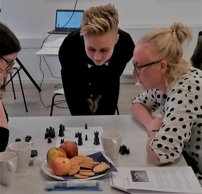 Kampen Bruvik vs Klunderud nærmer seg sin konklusjon. Foto: Astri Mari Nyborg