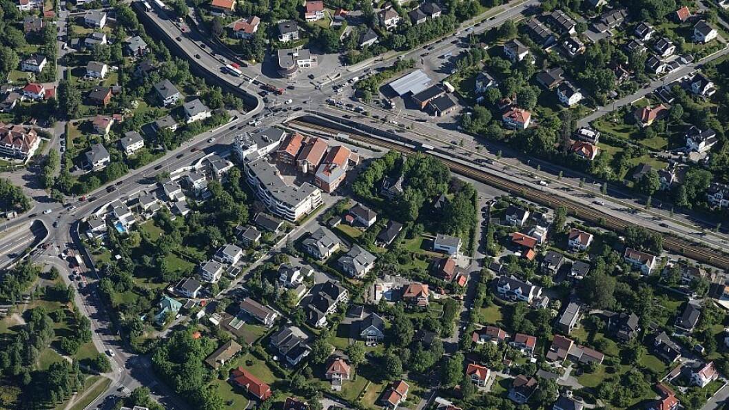 Kommuneplanen 2018 er tydelig på at småhusbebyggelsen skal bevares. Det må gjelde også for Smestad, mener skribentene. Foto: Plan- og bygningsetaten