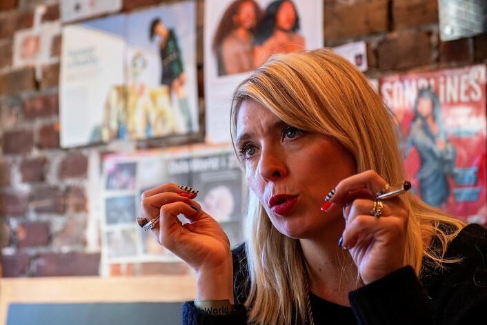 Oslo World har en gjennomgående historie med kvinnelige ledere. Alexandra Stølen har ledet festivalen i 13 år. Foto: Morten Lauveng Jørgensen