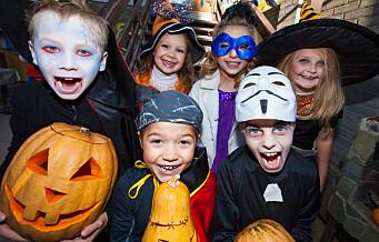 Halloween i dag!! Slik blir feiringen trygg