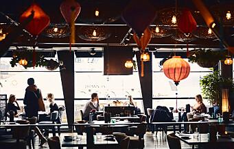 Restauranten ASIA på Aker brygge har ikke bare et par vegetarisk retter, men en hel meny