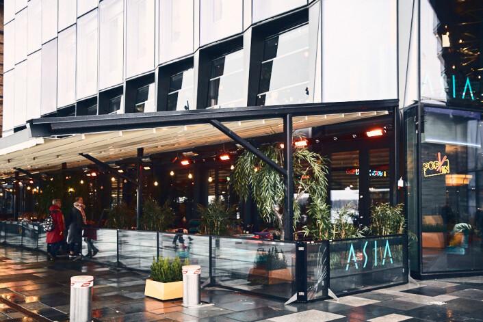 ASIA er den første restauranten du går forbi når du går utover Aker Brygge. Foto: Kristin Svanæs-Soot