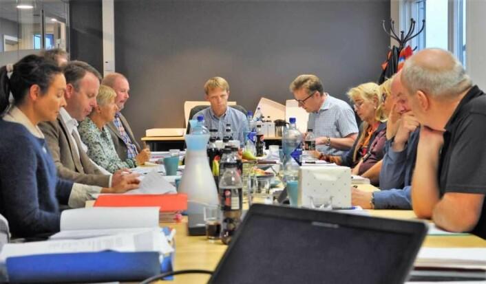 Bystyrets kontrollutvalg behandlet i slutten av september kommunerevisjonens gransking av ukultur og habilitetsbrudd i Omsorgsbygg. Foto: Arnsten Linstad