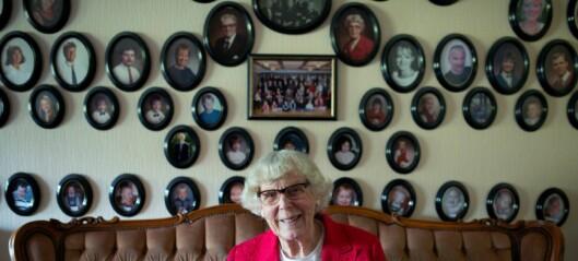 I en alder av 92, har prestefruen Lilly Walle fra Vestli gitt ut boken Punktum. Amen