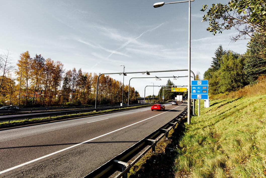 Etter en markant nedgang i trafikken gjennom bomringen, går antallet passeringer nå marginalt opp. Foto: Fjellinjen
