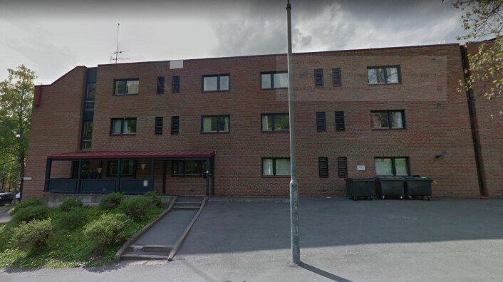 Fra dette borettslaget på St. Hanshaugen har beboerne drevet både vaskefirma og budbilfirma. Snart er det slutt. Faksimile: Google Maps
