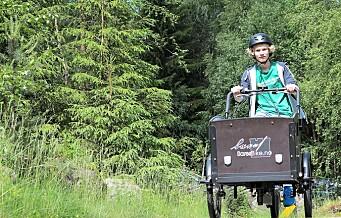 Regjeringen åpner for elsykler i Oslomarka