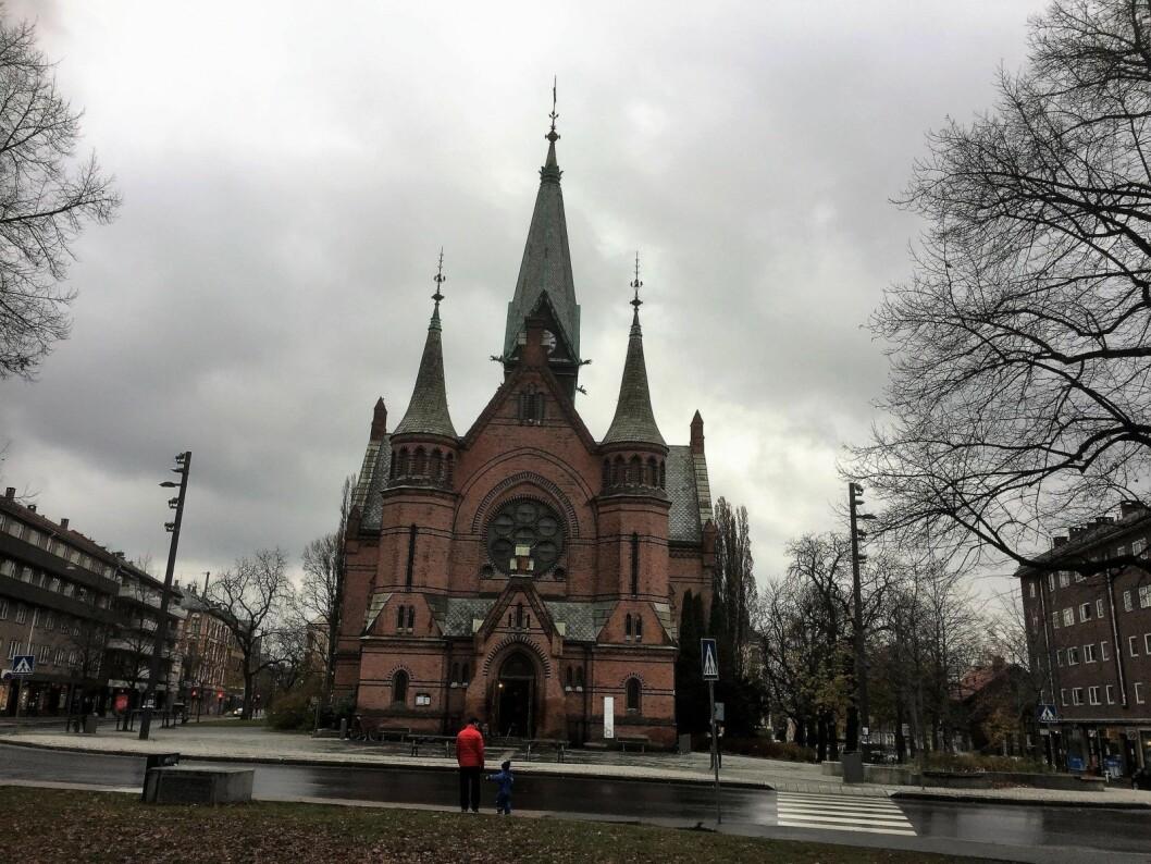 Sterk seremoni i Sagene kirke på allehelgensaften. Foto: Kjersti Opstad