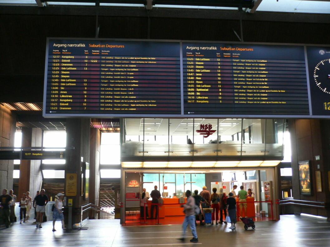 Knivstikkingen skjedde på e tidspunkt det er svært travelt på Oslos sentralstasjon. Både spor 15 og 16 ble midlertidig stengt til politiet var ferdig med tekniske udnersøkelser og vitneavhør. Foto: Travelstar/Flickr