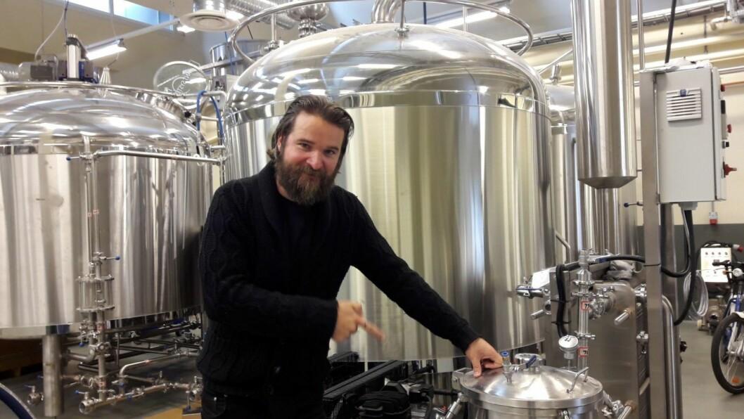Dan Marius Nordhagen bygde opp Oslo  Akershus bryggeri og puben Siste Sang på Grønland. Det er to år jeg aldri får tilbake, sier han. Foto: Anders Høilund