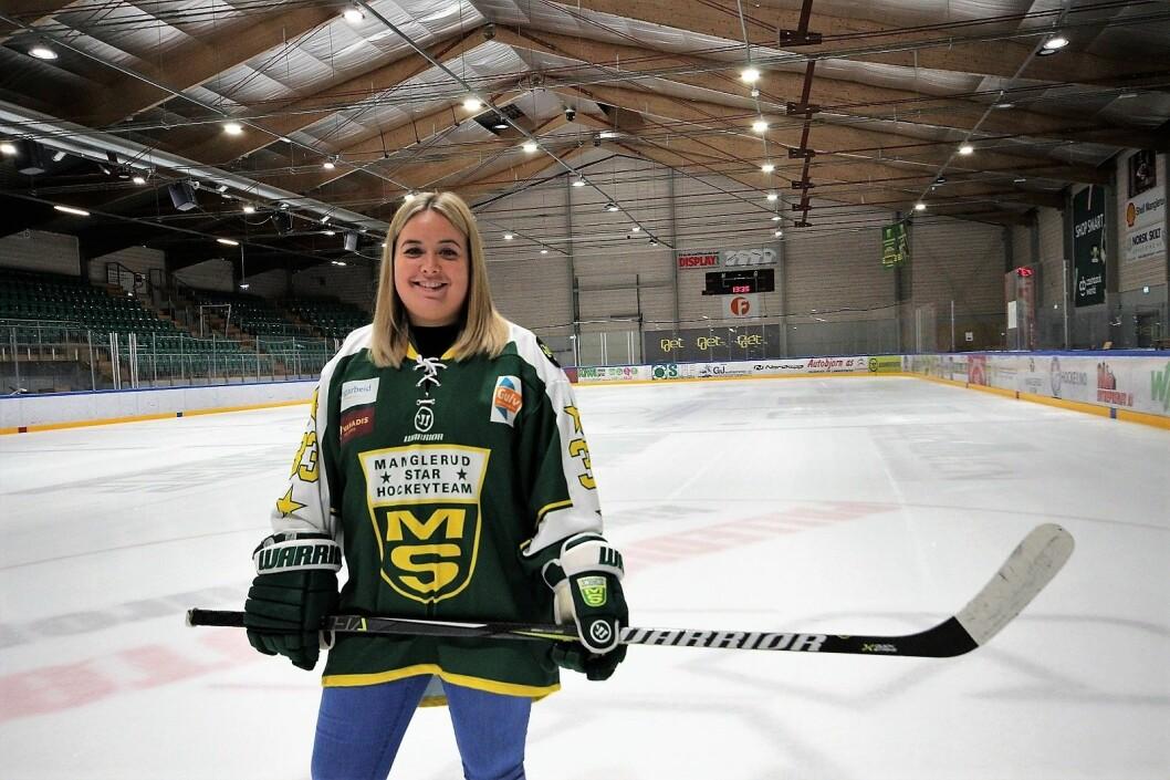 — Denne hallen møter ikke fremtidens krav til elitehockey, sier Manglerud/Stars nye daglige leder Cecilie Olsen. Foto: André Kjernsli