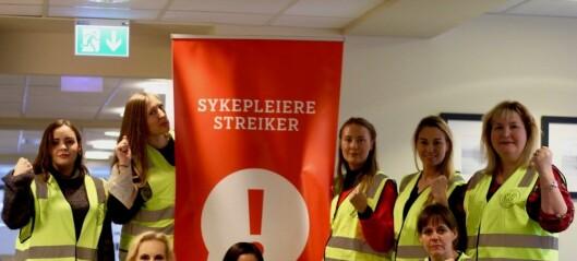 Lockouten: Her blir sykepleierne nektet å komme på jobb i Oslo