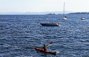 La det bli 5 knops-grense i hele indre Oslofjord
