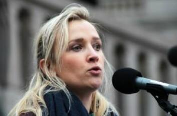 Katrine Mital, polsk abortaktivist. – Det utføres 22 millioner ulovlige aborter i verden hvert år. Foto: André Kjernsli