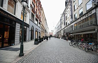 Nesten halvparten er positive til bilfritt byliv i Oslo. Butikkene mest negative