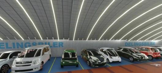 Planene om stort p-hus for elbiler på Frogner likevel ikke skrinlagt