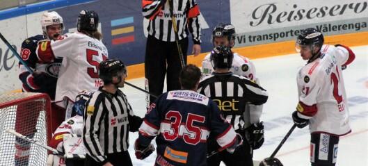Ellevill kamp mellom Vålerenga og Lillehammer, der lagene skåret og skåret og byttet på å lede