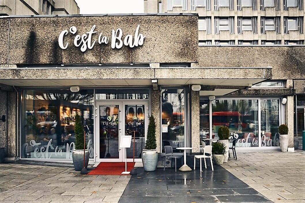 C´est la bab serverer kebab med inspirasjon fra alle verdens hjørner. Foto: Kristin Svanæs-Soot