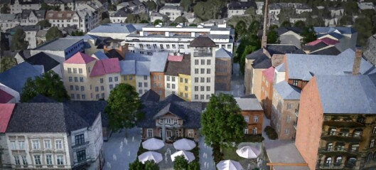 Fylkesmannen stanser bygging av sju etasjer høy murblokk bak Slottet