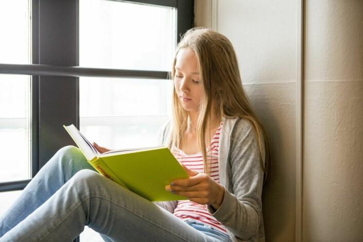 Jentene skårer høyest på lesing. Guttene er best i engelsk og matte. Foto: Thomas Brun / NTB scanpix