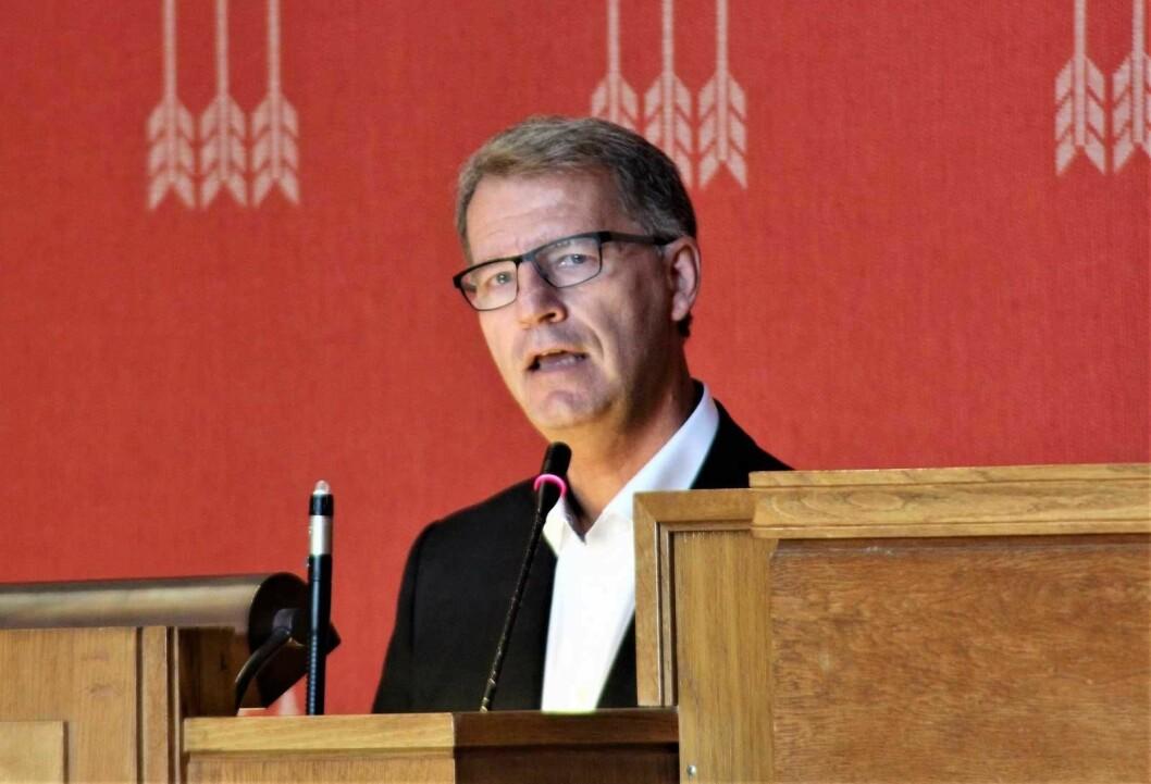 Finansbyråd Robert Steen har gått nøye gjennom dommen fra lagmannsretten og bestemt seg for å anke den til Høyesterett. Foto: André Kjernsli