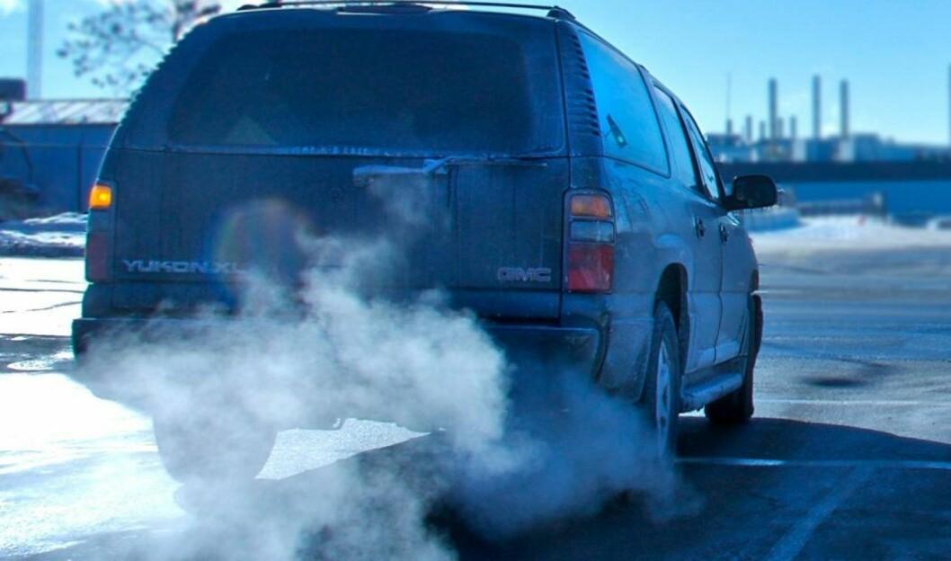 Høyest luftforurensing er ventet i de indre bydelene. Og verst er det i rushtiden. Illustrasjonsfoto: MPCA https://www.beairawaremn.org