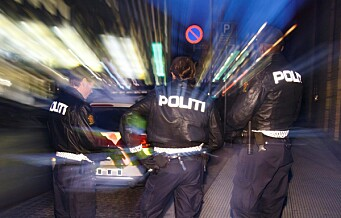 Masseslagsmål på Solli plass. Seks personer pågrepet av politiet