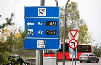 Aldri har så mange elbiler passert bomringen i Oslo
