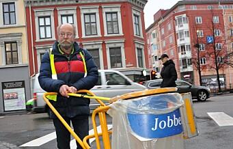 Rusavhengige Jon Arvid: - Politikere bør bli med og plukke søppel i gatene før de tar fra oss