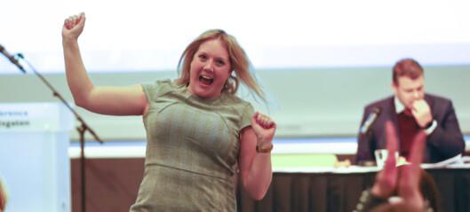 Jublende glad og lettet Aina Stenersen vant valgthriller i Oslo Frp