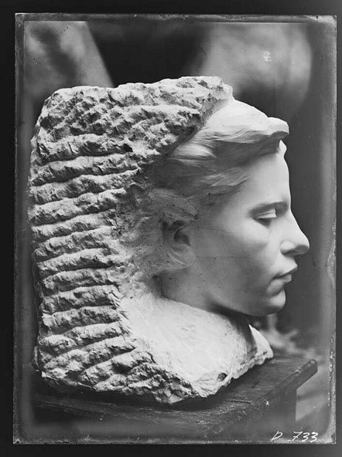Vigeland-museet gikk ut med en etterlysning etter Kvinneportrett. Foto: Vigeland-museet