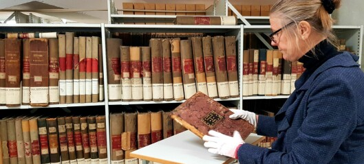 Arkivet etter Oslo Hospital (1644 – 2000) blir en del av Norges dokumentarv