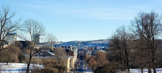 Oslo er mest solrikt i landet