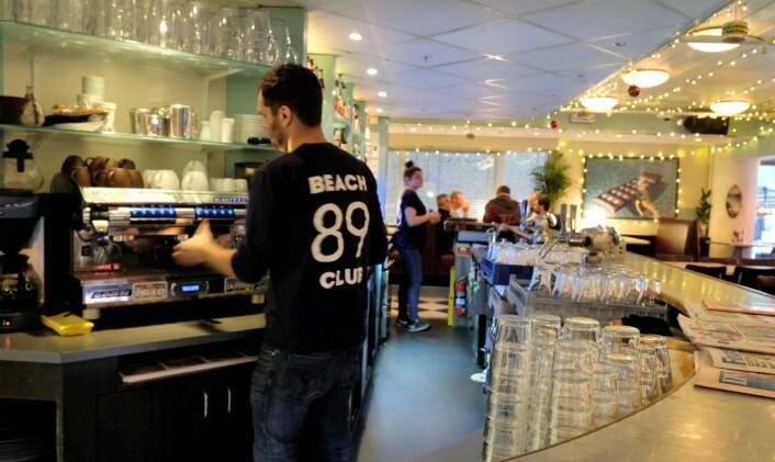 Trist og sårt at Beach klubb på Aker Brygge legges ned, mener de ansatte, men sånn er livet, sier de. Foto: Anders Høilund