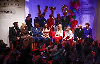 Elever fra Sagene og Grünerløkka holdt fest for fredsprisvinnerne