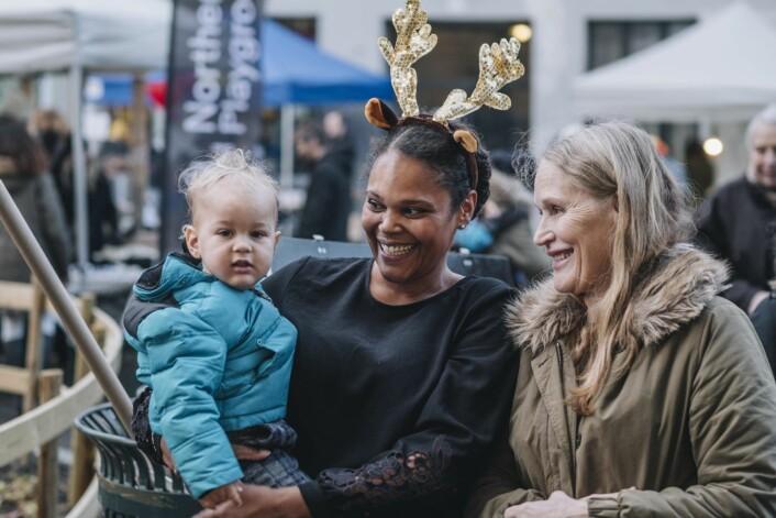 Fra julemarkedet på Tøyen. Foto: Ola Vatn