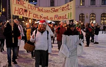 I dag kan Ullevål sykehus vedtas nedlagt. I morges var det Lucia-tog mot planene
