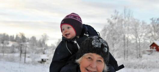 Med mormor Pihl og Silja til Lysern. Til en tid da ferie var nytt for arbeidsfolk