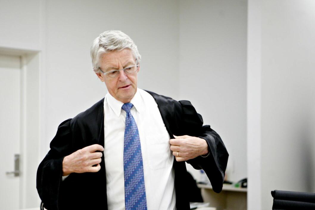 En av Norges mest profilerte advokater i nyere tid, Harald Stabell, er gått bort etter kort tids sykeleie. Foto: Anette Karlsen / NTB scanpix