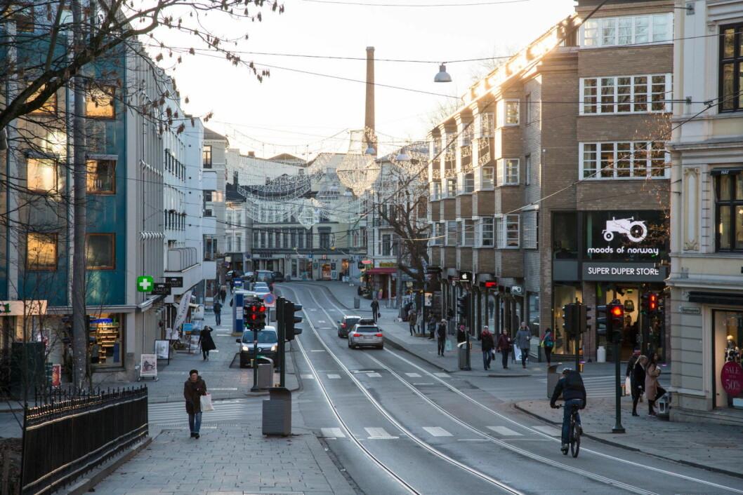 De to østeuropeiske prostituerte kvinnene ble ranet i en leilighet i Bogstadveien. Begge sliter med senskader etter det brutale ranet. Foto: Audun Braastad / NTB scanpix