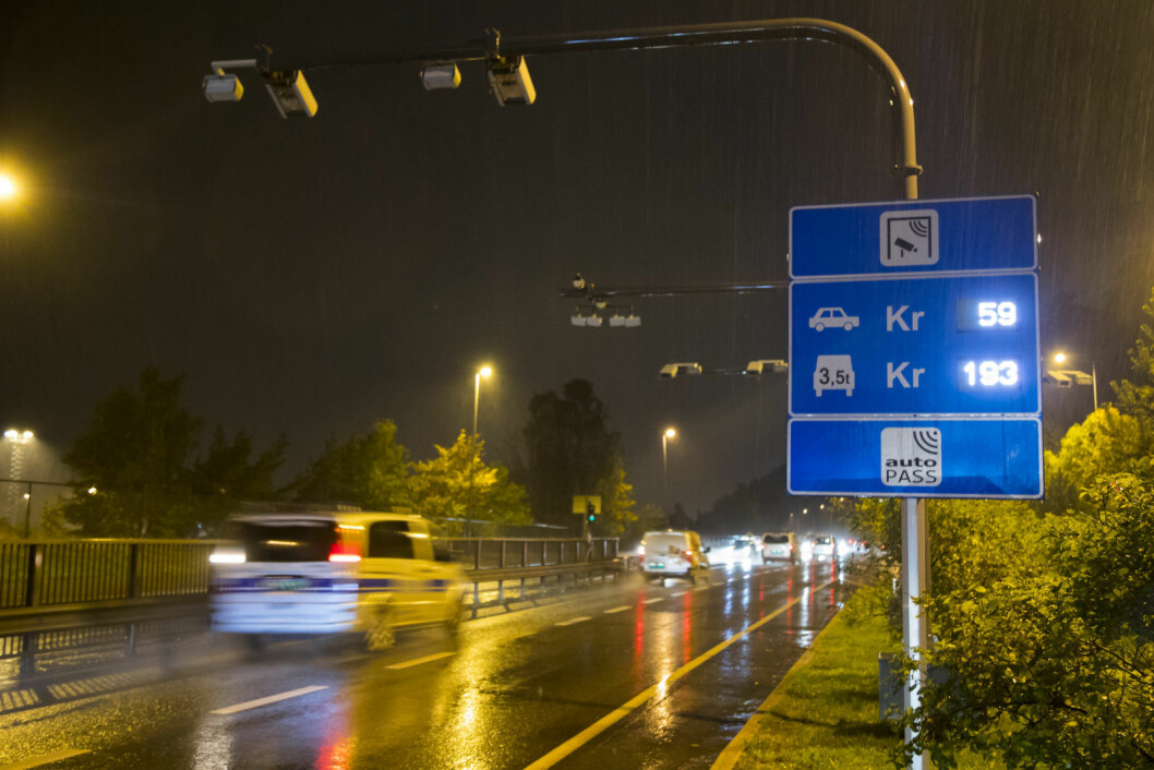 I oktober 2017 ble det markant dyrere å kjøre inn til hovedstaden i rushtiden. To år senere, i juni 2019, innføres en ny indre bomring med 53 bommer i Oslo. Foto: Heiko Junge / NTB scanpix