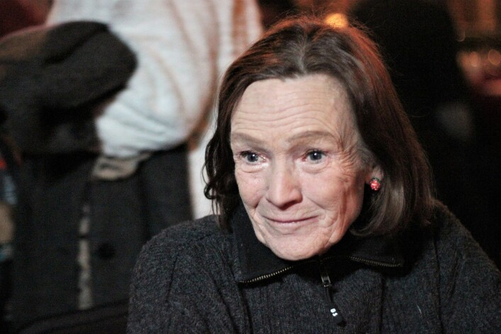 Wivian går under navnet matmor hos Erlik Oslo. I går ble hun hedret for sin innsats. Foto: André Kjernsli