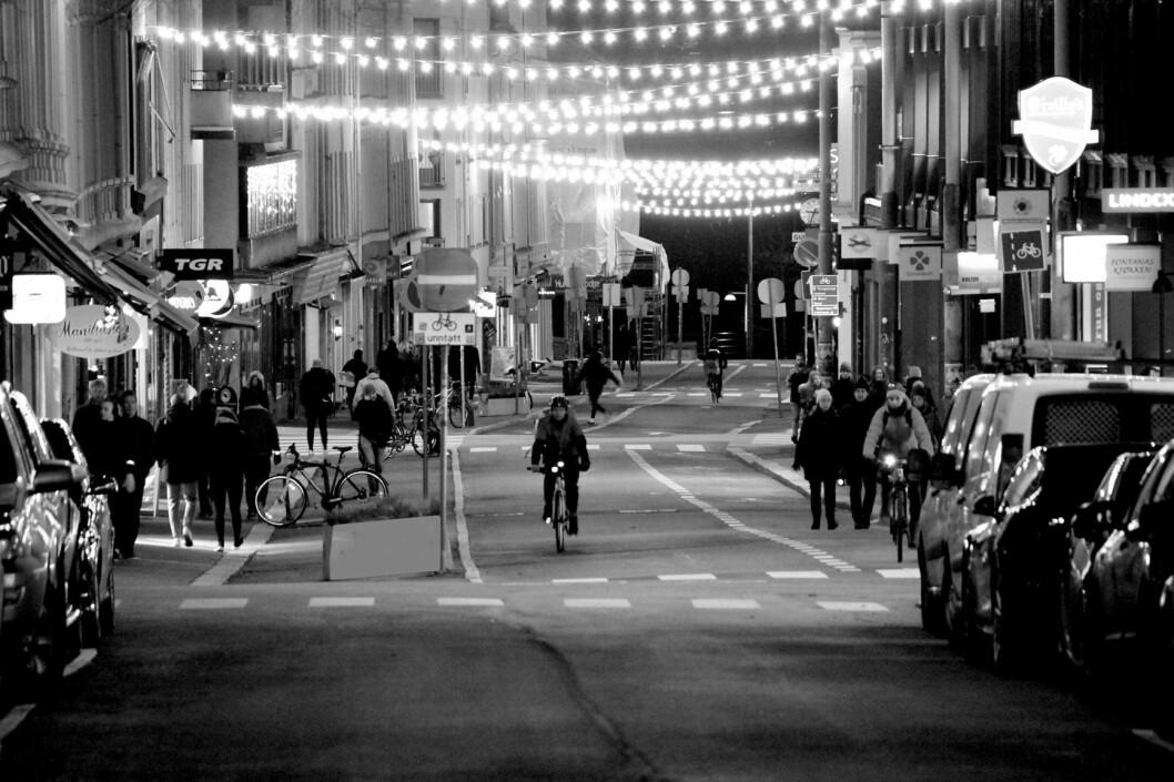 Oslo i desember. Foto: Tommy Amundsen