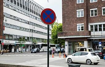 Mann slept etter taxi i Oslo