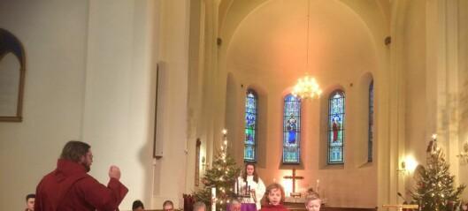 Jeg avslutter årets 52 kirkebesøk i en Grønland kirke, som fyller 150 år i 2019