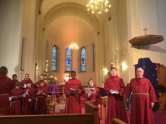St. Hallvard-guttene Foto: Kjersti Opstad