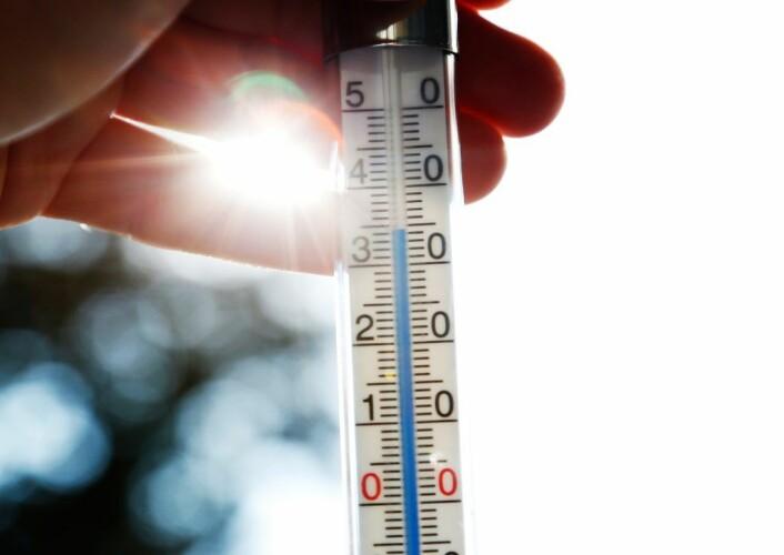 Den 27. juli viste gradestokken på Bygdøy 35 varmegrader. Foto: Erik Johansen / NTB scanpix