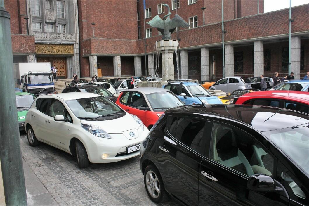 Bilkjøpere på Oslo vest kjøper stadig oftere elbiler når de skal ha ny bil. Illustrasjonsfoto: Norsk Elbilforening